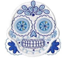 Sugar Skulls Applique 6