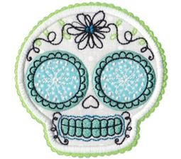 Sugar Skulls Applique 7