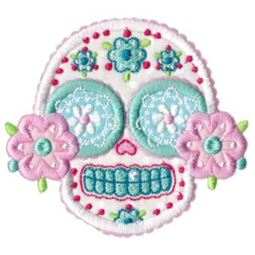 Sugar Skulls Applique 8