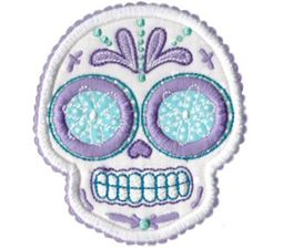 Sugar Skulls Applique 9