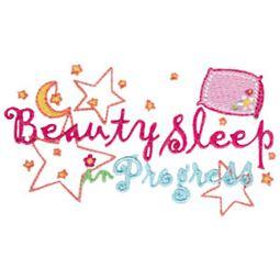Beauty Sleep In Progress