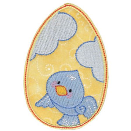 Sweet Eggs Applique 1