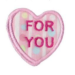 Sweethearts Applique 10