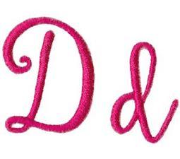 Sweet Peony Font D