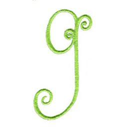 Swirly Alphabet Lower Case g