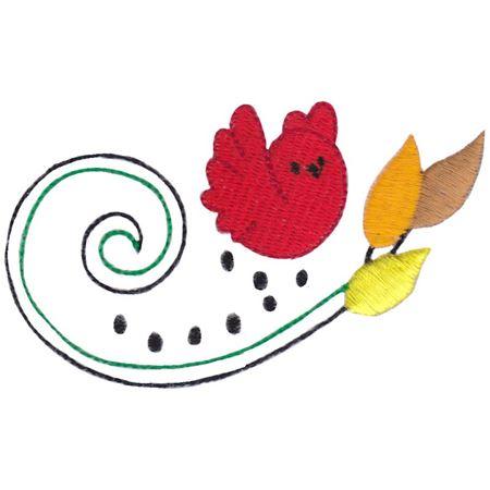 Swirly Autumn Leaves 3