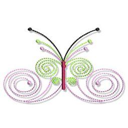 Swirly Butterflies 12