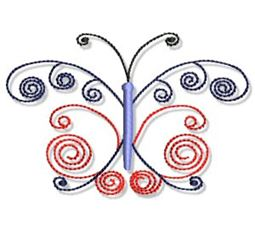 Swirly Butterflies 13