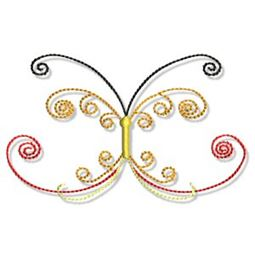 Swirly Butterflies 14