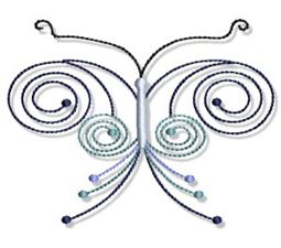 Swirly Butterflies 15