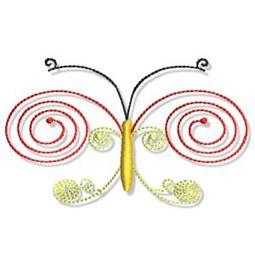 Swirly Butterflies 18