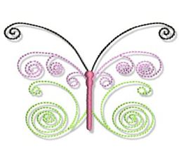 Swirly Butterflies 19