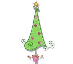 Swirly Christmas 2
