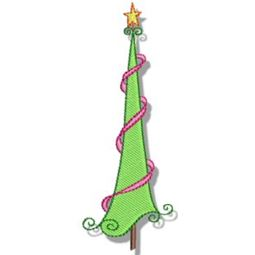Swirly Christmas 3