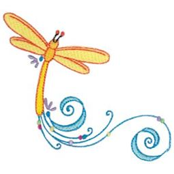 Swirly Dragonflies 11
