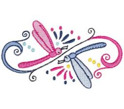 Swirly Dragonflies 13