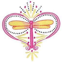 Swirly Dragonflies 9