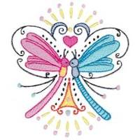Swirly Dragonflies