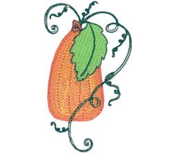 Swirly Pumpkin 8