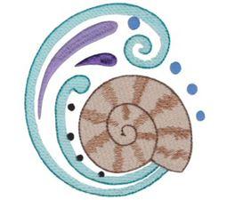 Swirly Seaside 1