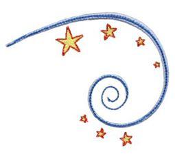 Swirly Stars 4