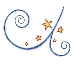 Swirly Stars 5