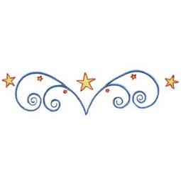 Swirly Stars 9