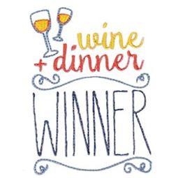 Wine And Dinner WInner