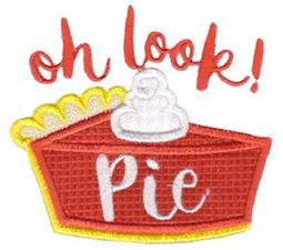 Oh Look Pie Applique