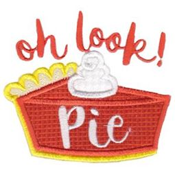 Oh Look Pie Applique