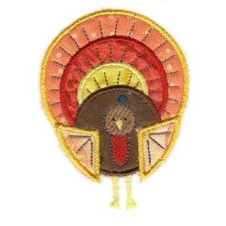 Thanksgiving Whimsy Applique 7