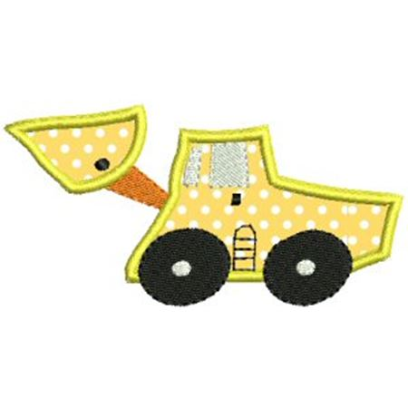 Things That Go Vroom Applique 2