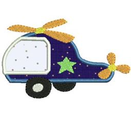 Things That Go Vroom Applique 6