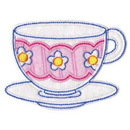 Time For Tea Applique 1