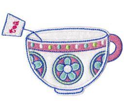 Time For Tea Applique 12