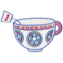 Time For Tea Applique 12