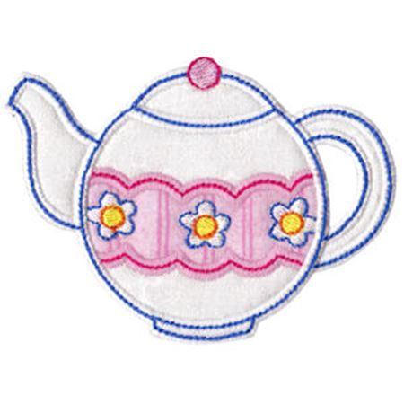 Time For Tea Applique 2
