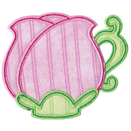 Time For Tea Applique 5
