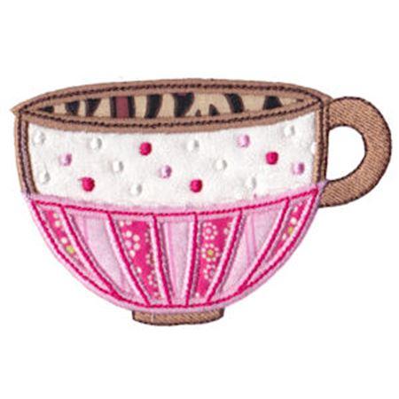 Time For Tea Applique 9
