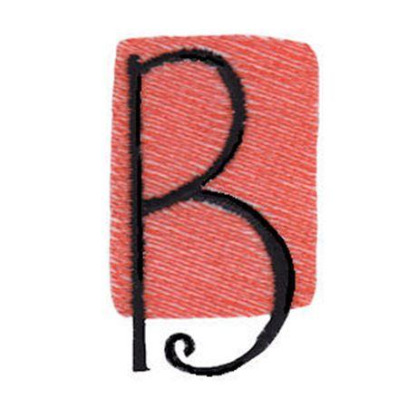 Tiny Blocks Alphabet Capital B