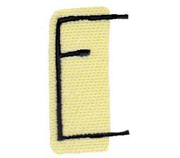 Tiny Blocks Alphabet Capital E