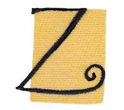Tiny Blocks Alphabet Capital Z