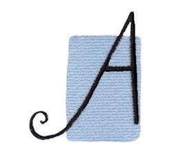 Tiny Blocks Alphabet Capital A