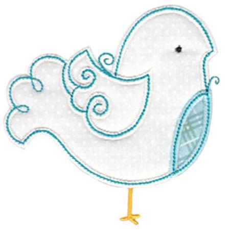 Tweet Thing Applique 9