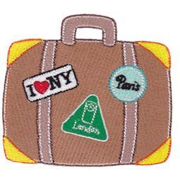 Filled Stitch Suitcase