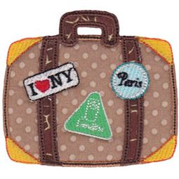 Applique Suitcase