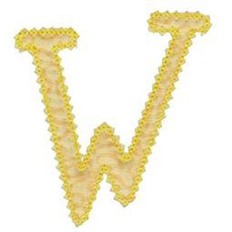 Vintage Delicious Applique Alphabet w