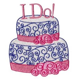 I Do Wedding Cake