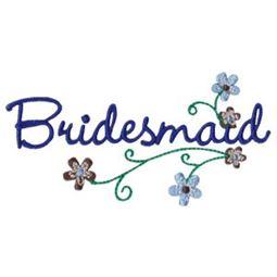 Floral Bridesmaid