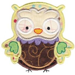What A Hoot Applique 11